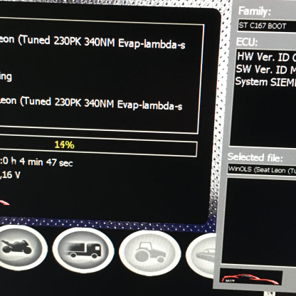 Remapping + Evap / Lambda / Airpump off